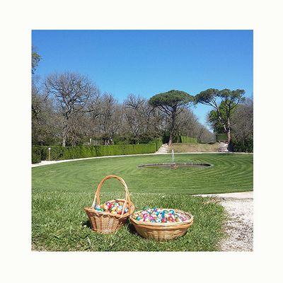 Connaissez-vous la plus grande chasse aux œufs dans un château en France au cœur du plus grand labyrinthe de buis d'Europe ?