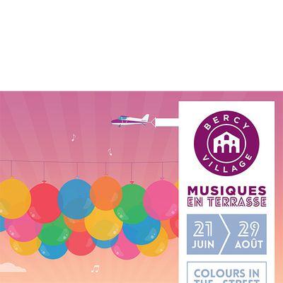 Flâner en musique à Bercy Village