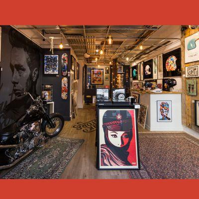 Nouvel e-commerce pour le artshop Blink Art Store