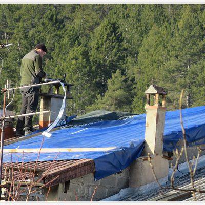 Saint André les Alpes : Des dégâts importants suite à la tempête