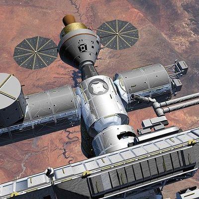 Un projet de loi pour la desserte d'ISS par Orion