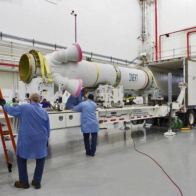 Livraison du moteur d'abandon au lancement pour Artémis 1