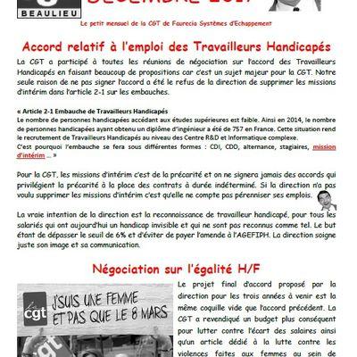 Mr. Being décembre 2017 - travailleurs handicapés - égalité H/F - droit déconnexion