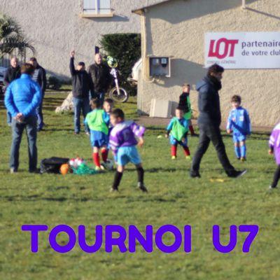 Jeunes > Les U7 à Gréalou