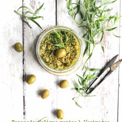 Tapenade d'olives vertes à l'estragon