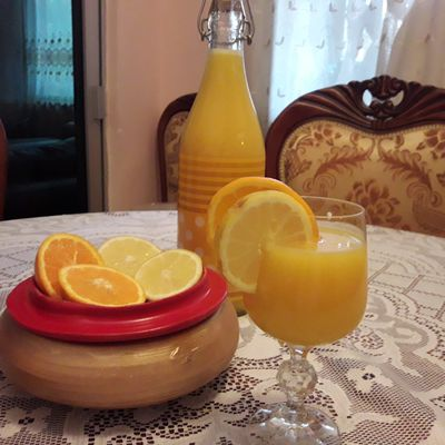 jus d'orange & citron