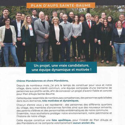CARINE PAILLARD / ELECTION MUNICIPALE 2020 / PRESENTATION DE L'EQUIPE