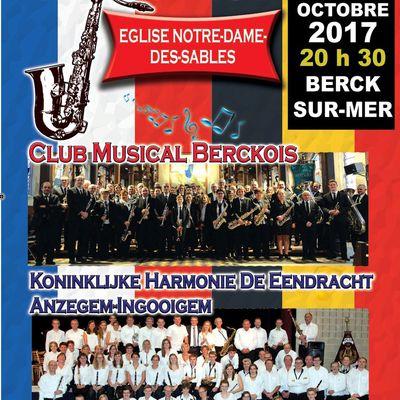 Concert d'Automne du Club Musical Berckois - Samedi 28 octobre