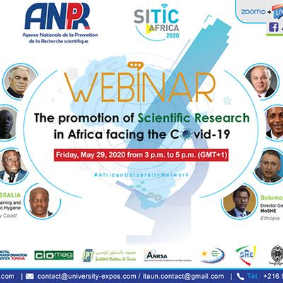 Webinar - The promotion of scientific research in Africa facing the Covid-19