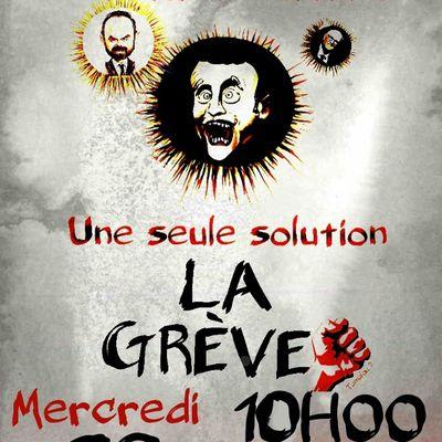 manifestation Mercredi 29 Janvier à Chambéry