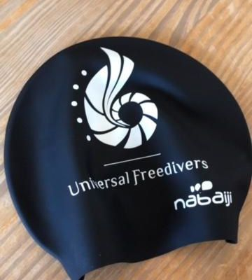 Universal Freedivers swimcap now available!