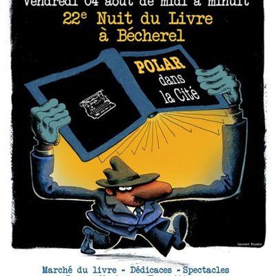 Nuit du livre 2017 : nuit d'encre à Bécherel... le vendredi 4 août