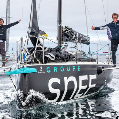 [ Tour de Bretagne à la Voile ] Xavier Macaire vice-Champion de France Elite de Course au Large