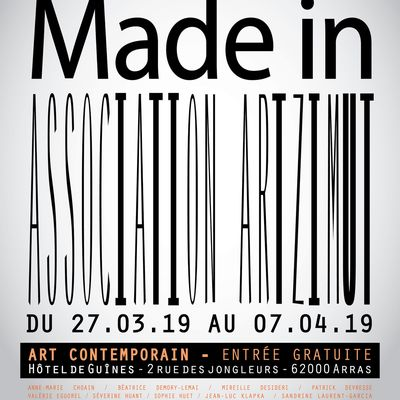 Exposition Made in - Art contemporain