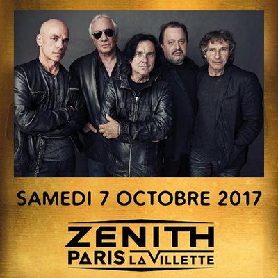 Agenda : Marillion au Zénith, le 7 octobre 2017