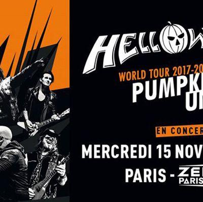 Agenda : Helloween au Zénith, le 15 novembre 2017