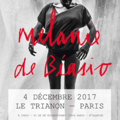 Agenda : Mélanie De Biasio au Trianon, le 4 décembre 2017