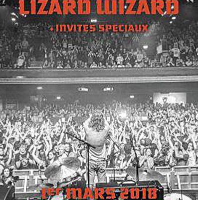 Agenda : King Gizzard & the Lizard Wizard au Bataclan, le 1er mars 2018