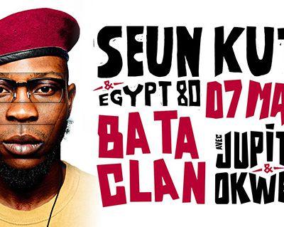Agenda : Seun Kuti & Egypt 80 au Bataclan, le 7 mars 2018