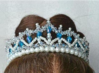 Crystal Pearl Crown - Tutorial para Hacer la Corona Nupcial