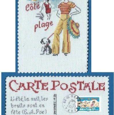 Art Postal- Les quatre saisons.