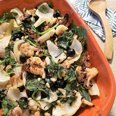 Légumes Braisés au Miel et au Citron