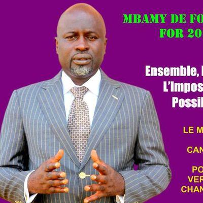 CE QUE JE PENSE....  LE SENS DE NOTRE ENGAGEMENT ET COMBAT POUR LE CAMEROUN NOUVEAU DÈS 2018
