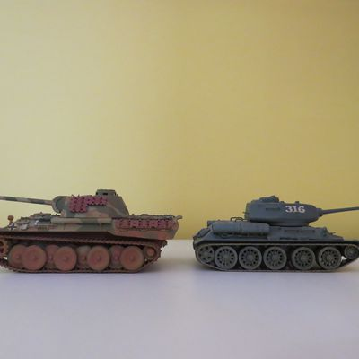 Panther vs T34/85