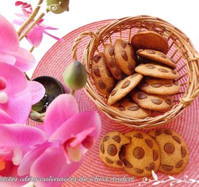 Cookies noisette & chocolat sans beurre