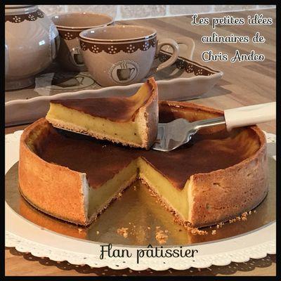 Flan pâtissier version CAP Pâtisserie