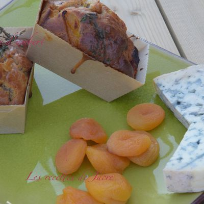 Minis cakes aux abricots secs et foume d'Ambert