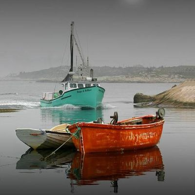 Barques - Lune - Picture - Free