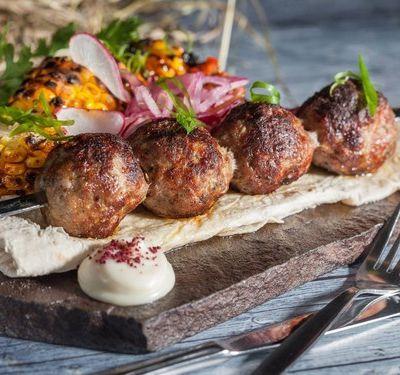 Bon appétit - Nourriture - Brochette - Boulettes - Viande -Wallpaper - Free