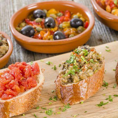 Bon appétit - Nourriture - Tapas - Espagne - Wallpaper - Free