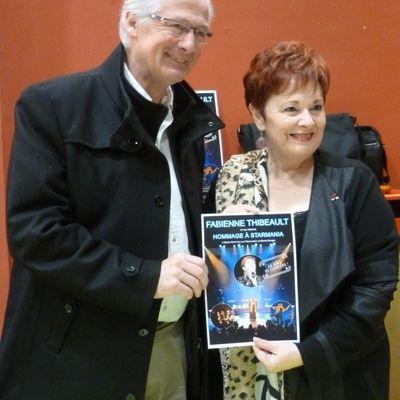 Le salon du livre met à l'honneur Fabienne Thibeault de Starmania