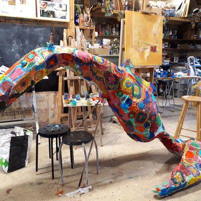 Dragon pour Carnaval