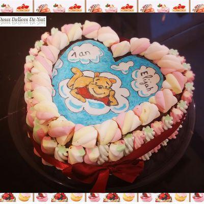 Gâteau Winnie l'ourson :