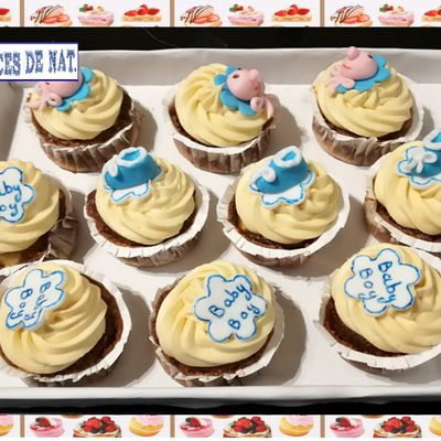 Cupcakes baby shower :