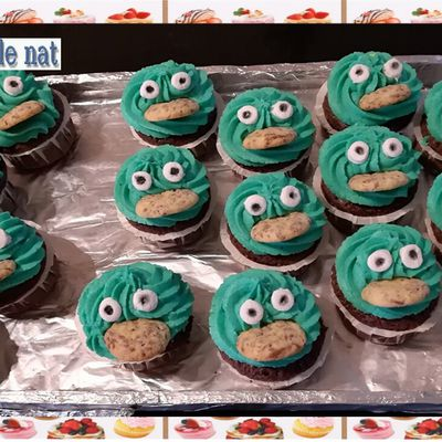 Cupcakes cookie Monster :