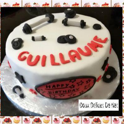 Gâteau haltères :
