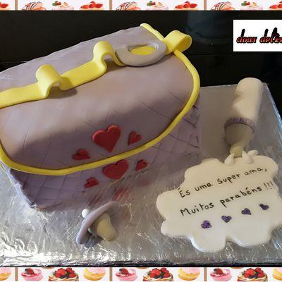 Gâteau sac à langer :