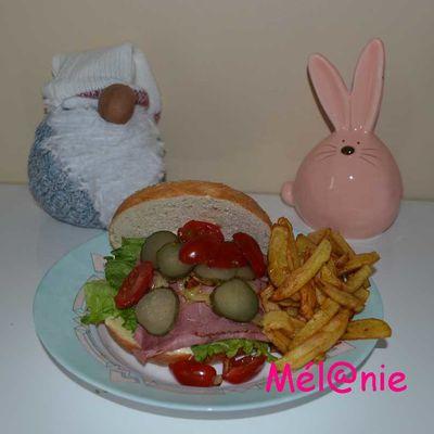 Bagel au Pastrami