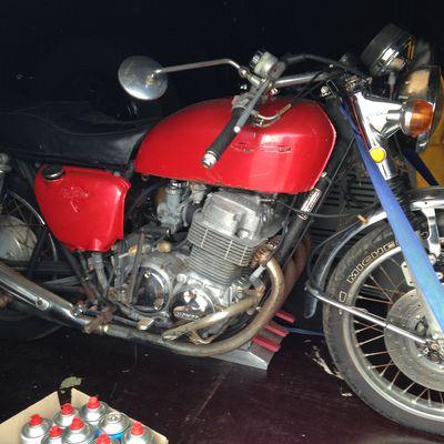 Honda Cb 750 K2 .. PROJET EN COURS