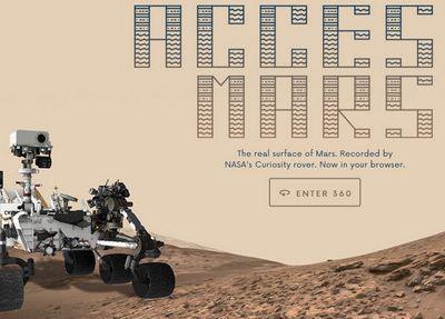 BON PLAN: découvrez Mars comme si vous y étiez à 360°