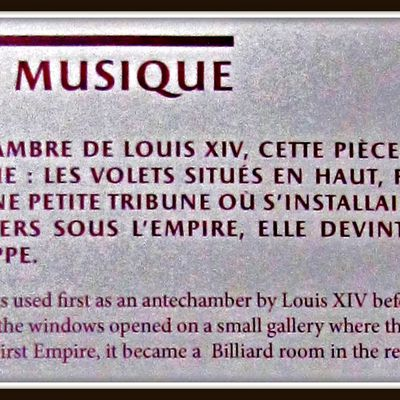 Salon de musique, Grand Trianon