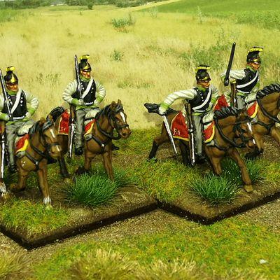 5 eme cuirassiers Autrichiens.