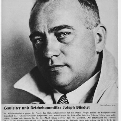 Portrait of Gauleiter and Reichskommissar Joseph Buerckel