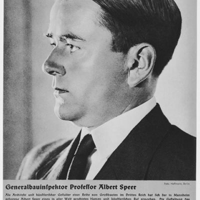 Portrait of Albert Speer