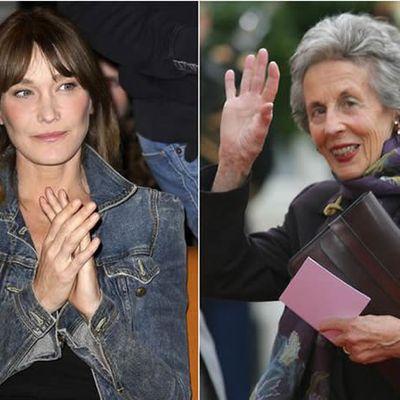 L'hommage touchant de Carla Bruni à sa belle-mère Andrée Sarkozy