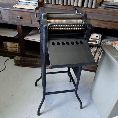 Machine à stencils
